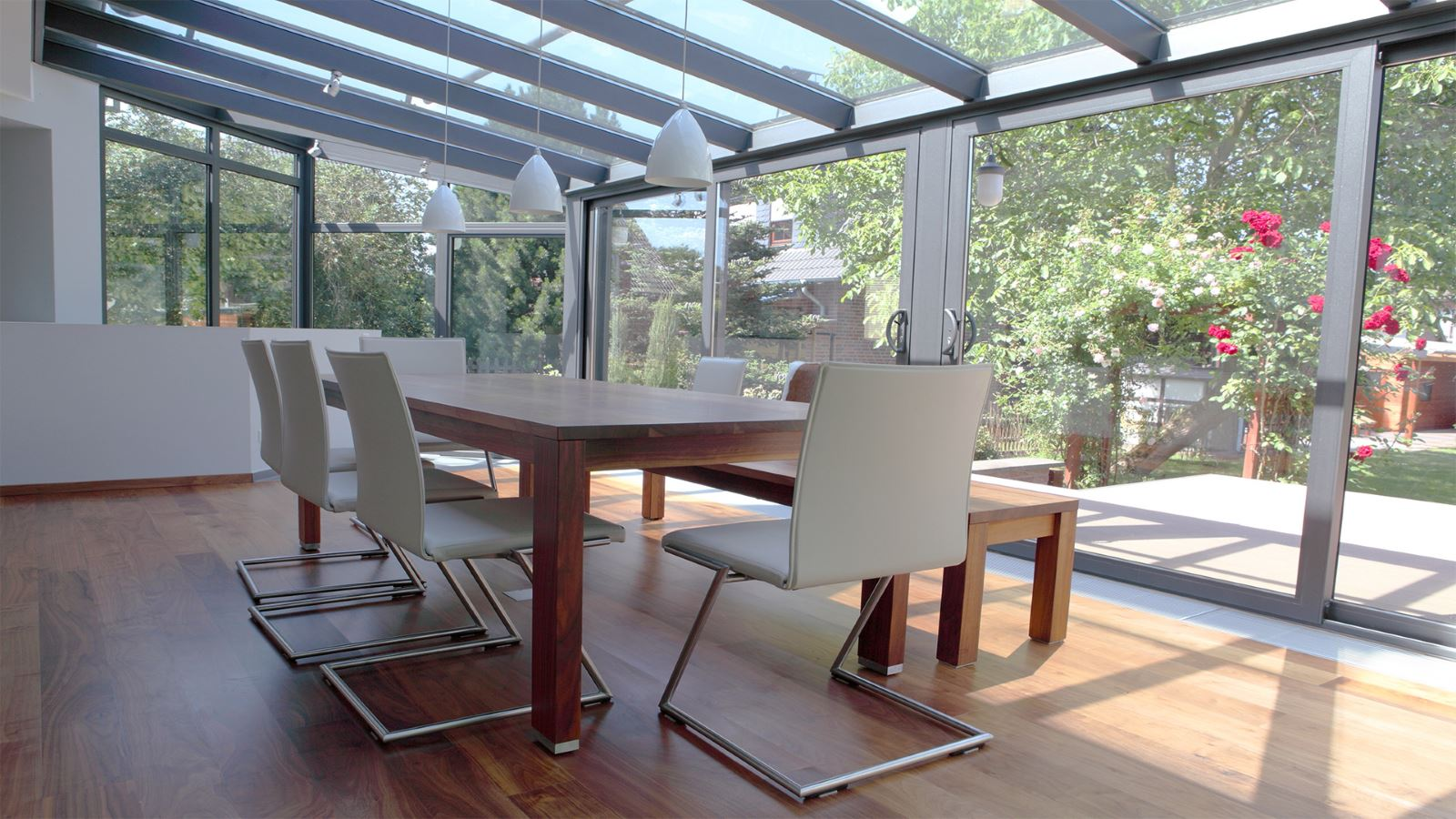Commercial Window Film in Conservatory
